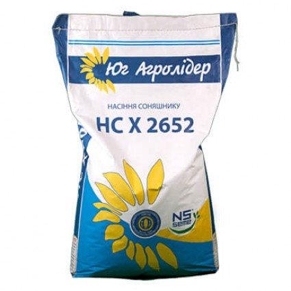 Семена Подсолнечника НС Х 2652 - Цена за 1 мешок